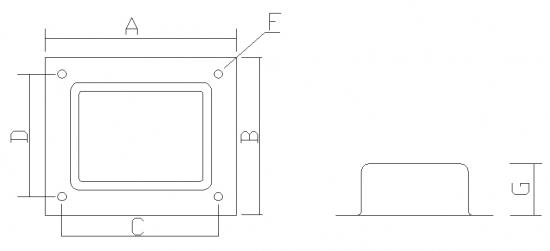 trafohaube ei96 mit f en musical accessories. Black Bedroom Furniture Sets. Home Design Ideas