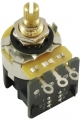 potentiomètre guitare CTS 250K log push pull, axe court