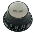 Top hat knob, Volume Gibson style black