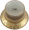 Top Hat Potiknopf, tone Gibson style gold