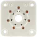 7 pin septar tube socket, ceramic, 6C33C, 6C33