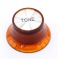 Top hat knob, Tone Gibson style amber