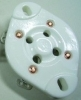 UX4 tube socket, ceramic, 2A3, 811, 300B