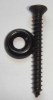 black oxide coating back panel screws 1-1/2