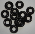 Finish washer, black, us made, 12 pcs./set