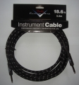 Fender Custom Shop Cable Black Tweed, jack - jack