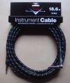 Fender Custom Shop Cable Black Tweed, angle